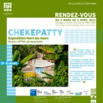 "Exposition photos ""Chekepatty"" : Vernissage le 3 mars 2021 à 16h."